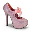 TEEZE-04R Baby Pink Rhinestone